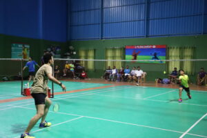 Badminton (Boys) Competition