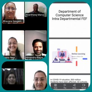 Intra-departmental FEF of Commerce Department by CS Dept
