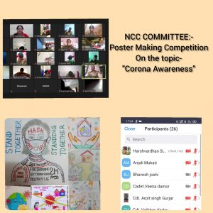 NCC Poster Competition on Corona Awareness