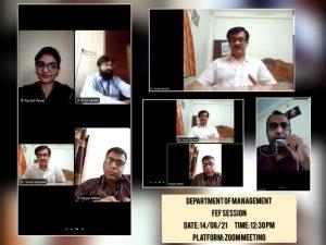 Dept. Of Management – FEF