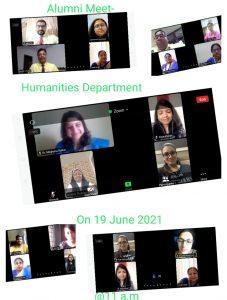 Dept. of Humanities – Alumni meet