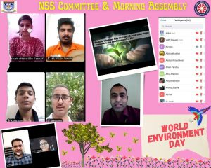 NSS & Morning Assembly Committee observed World Environment Day