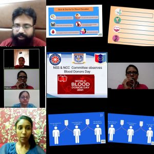NSS & NCC Committee observed Blood Donors Day – 1