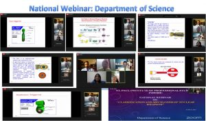National webinar on the topic Classification and working mechanism of Nuclear weapons organized by Department of Science