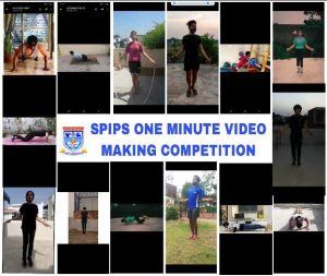 One minute video making Competition