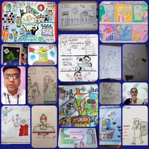 Online Entertainment Cartooning competition – I Yr