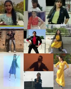 Online Entertainment Final Solo Indo-Western Dance competition – First Year