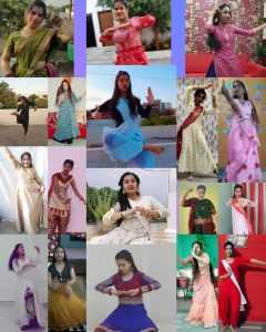 Online Entertainment Final Solo Semi – Classical Dance competition – First Year