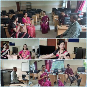 Department of Computer Science Conducted Intra department Faculty enriching Faculty Program on Ensuring Qualities in Students