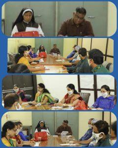 Meeting of Parents Professors Association.