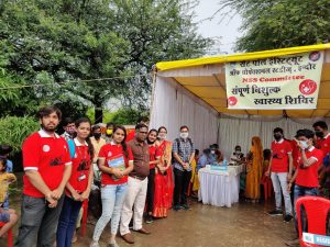NSS Camp adopted village